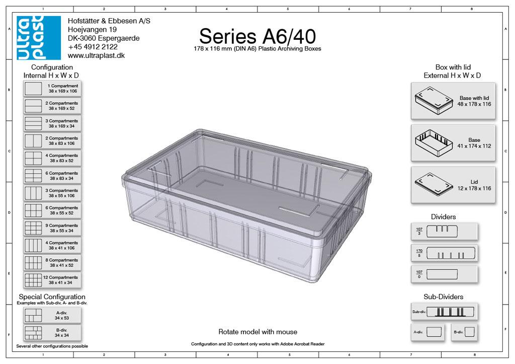 Reihe A6 - 40