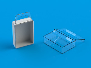 Small plastic containers from Ultraplast A/S