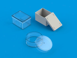 small plastic storage boxes from Ultraplast A/S