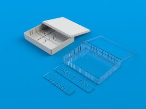 Arkivkasser i plast størrelse A5-40
