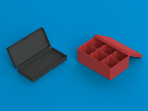 PP plastic boxes with lid from Ultraplast A/S