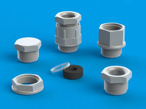 Cable glands in M ang PG from Ultraplast